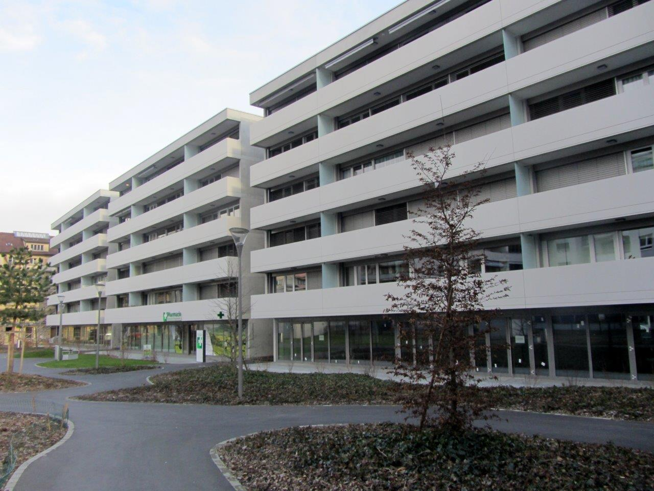 10.	3 immeubles de logements et parking souterrain