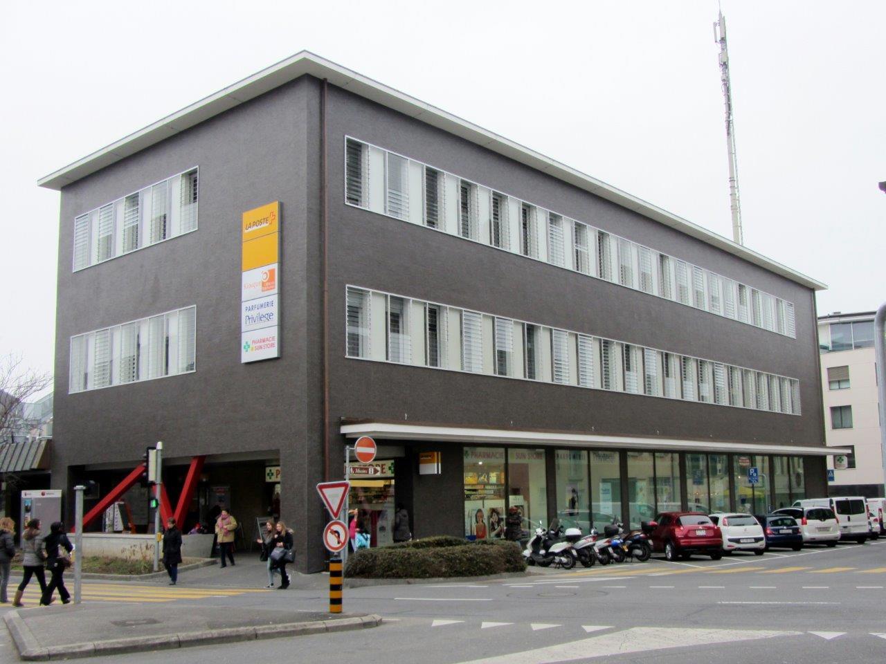 17. Assainissement du bâtiment postal